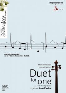 Escuela JANA en la obra Duet for one