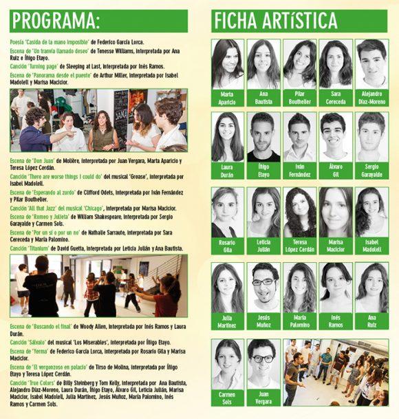 ESCUELA JANA - Muestra Alumnos Curso 2014-15