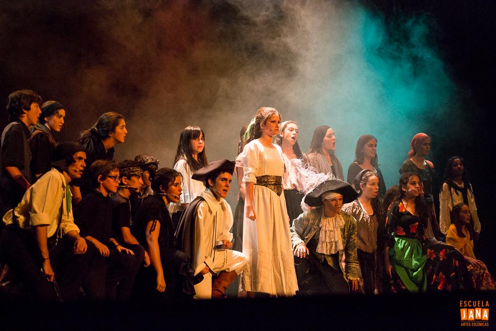 Clases de teatro y musicales para niños y jóvenes. Escuela JANA JUNIOR