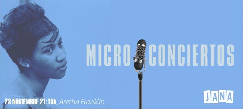 Micro-Concierto de Aretha Franklin