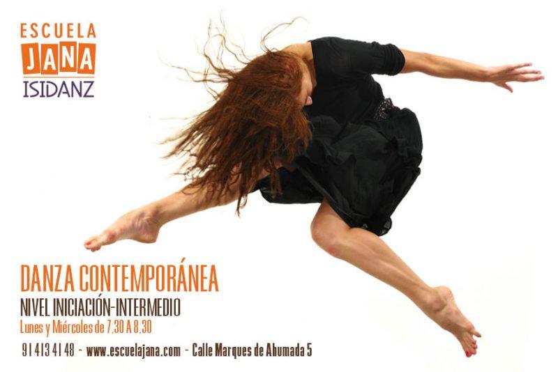 Clases de Danza Contemporánea Escuela JANA ISIDANZ