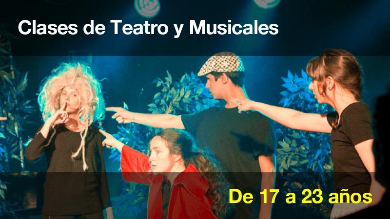 Clases de Teatro y musicales