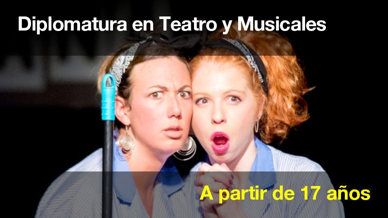 Diplomatura en teatro y musicales