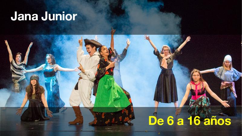 Clases de baile, interpretacion y canto para niños, Escuela Jana