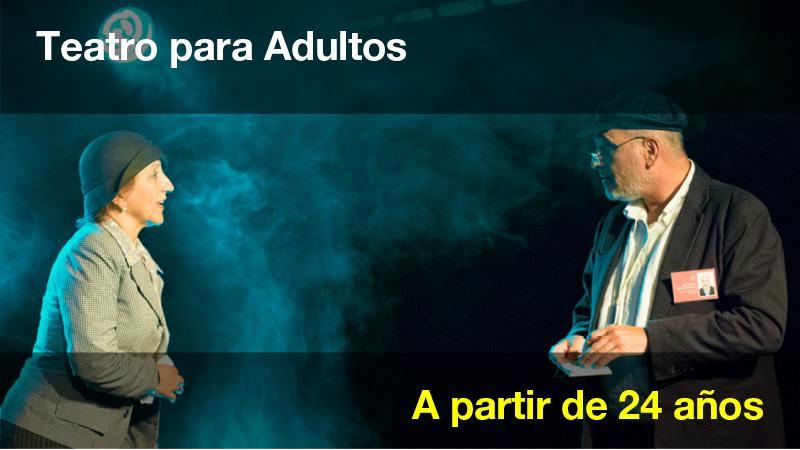 Clases de teatros para ADULTOS - Escuela JANA
