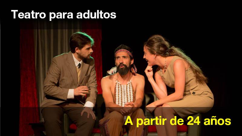 Clase de Teatro para adultos