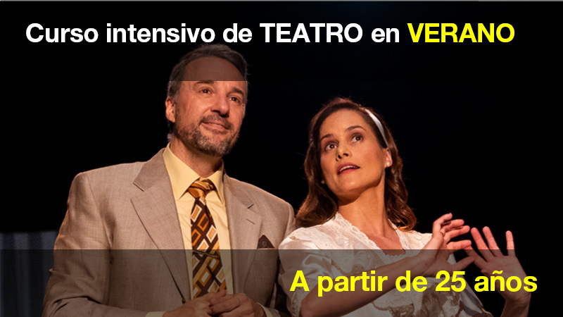 Curso intensivo de teatro para adultos