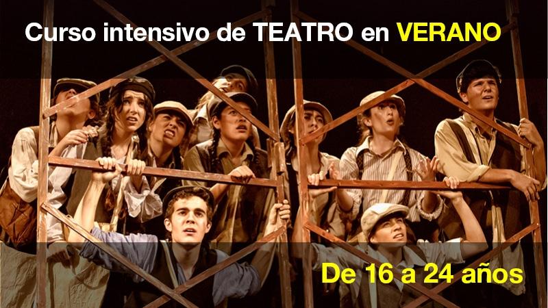 Curso intensivo de teatro en verano