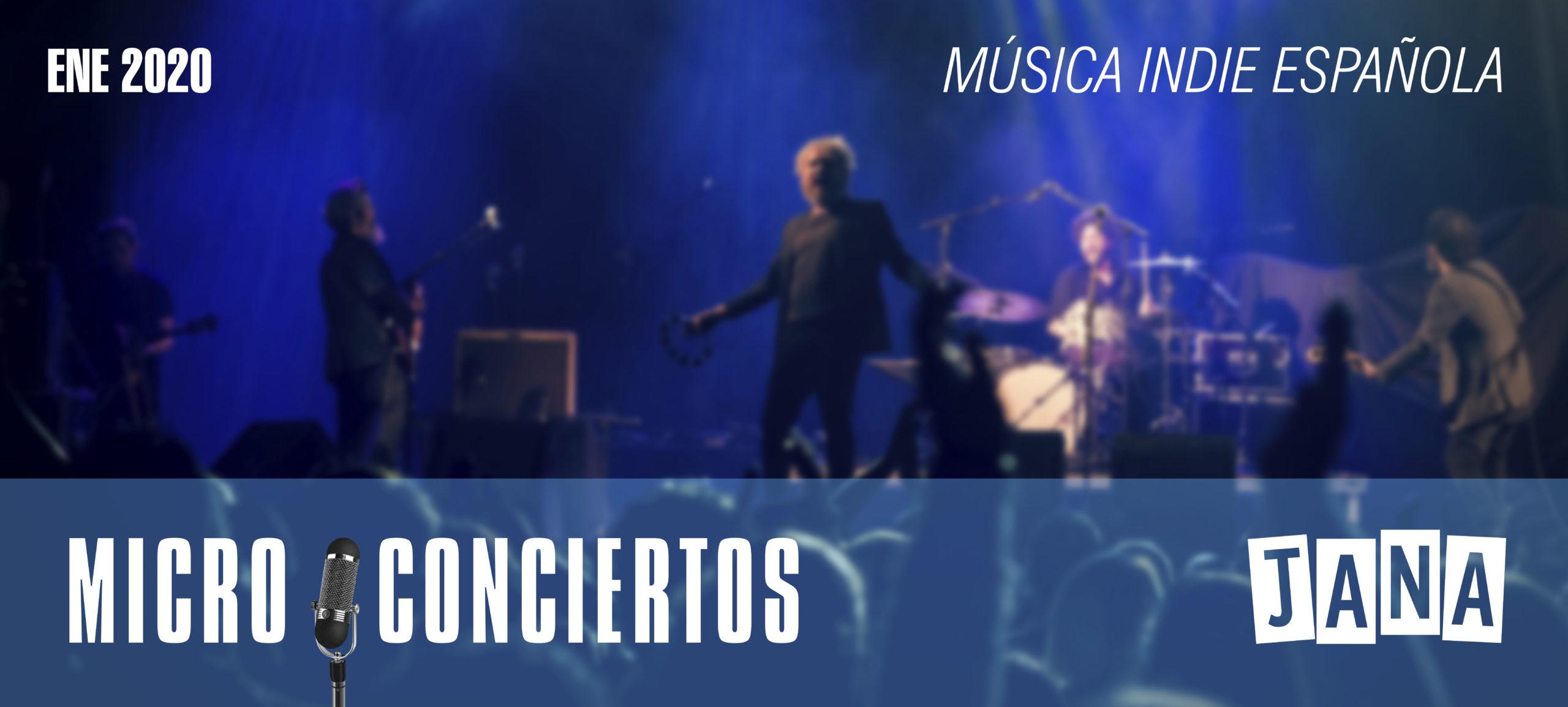 jana microconcierto musica indie española