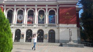 Clara del Valle, profesora de JANA Acalá, bailarina del State Opera Rousse Ballet
