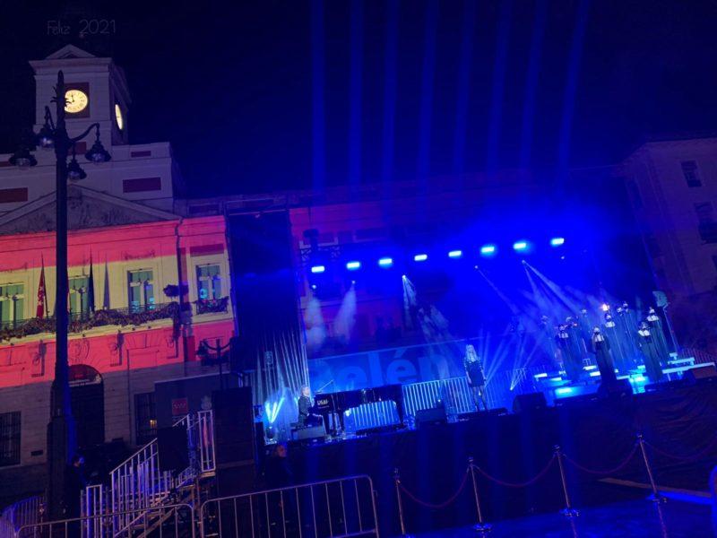 Nacho Cano, Kuve y Escuela JANA hacen historia en Nochevieja desde la Puerta del Sol de Madrid