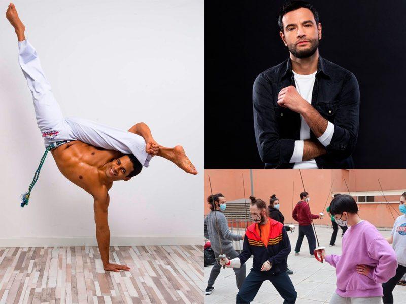 Masterclass de capoeira, esgrima y preparación vocal para casting en Escuela JANA