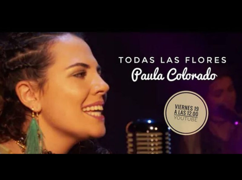 Paula Colorado protagoniza Canciones en la pared: Todas las flores