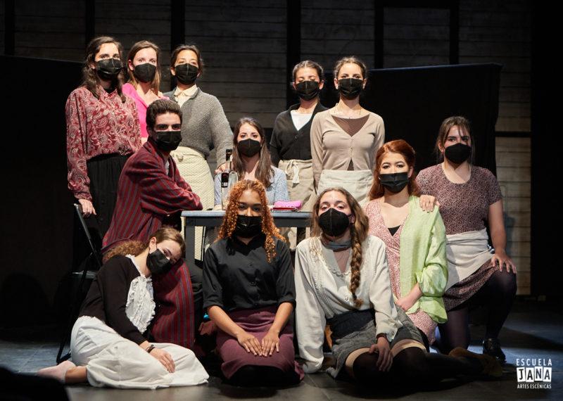 El Teatro Arapiles acoge las muestras de Escuela JANA