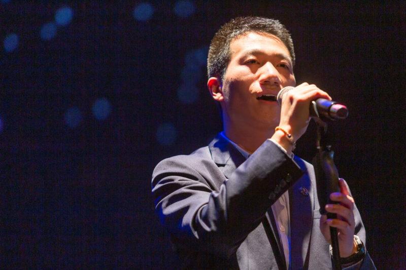 Kang se proclamó ganador de La Voz de tu Facultad 2021