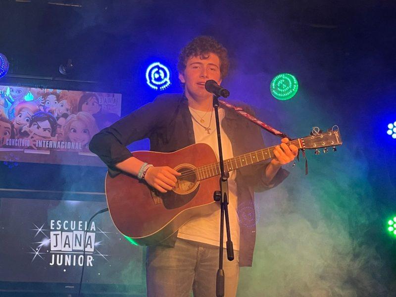 Martín de Jong gana el MicroConcierto Internacional de JANA Junior