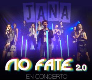 Concierto del grupo de jana producciones no fate en el gran teatro príncipe pío